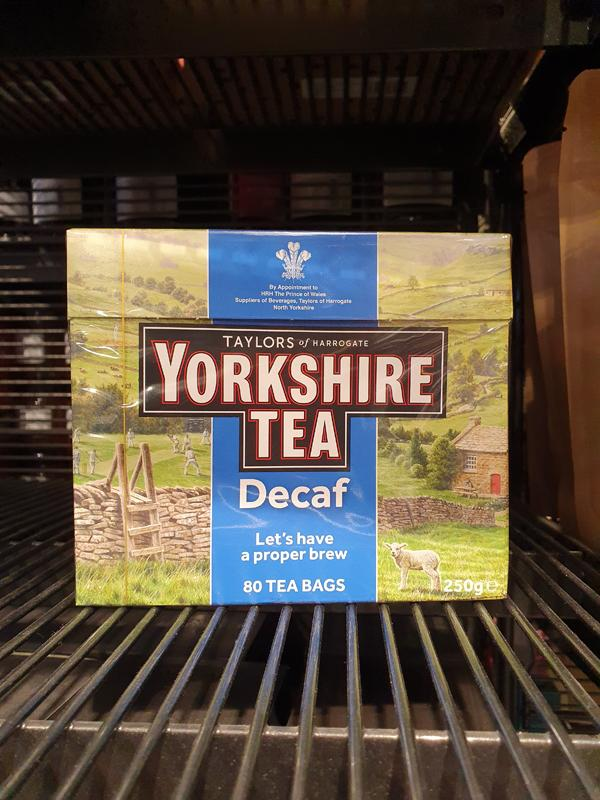 Yorkshire Tea Decaffe 80s