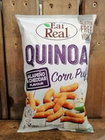 Eat Real Quinoa Puffs Cheese Jalapeno 113g