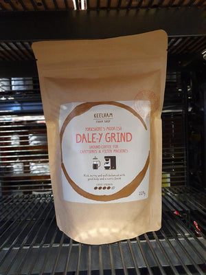 Load image into Gallery viewer, Keelham Dale-y Grind Ground Coffee 227g