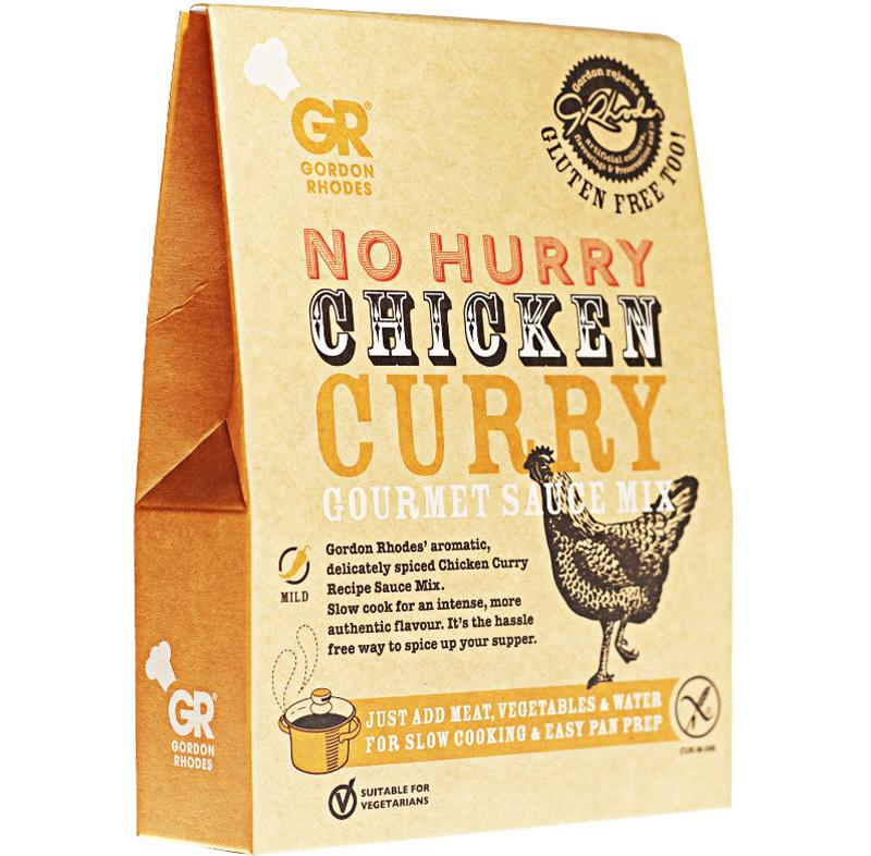 Load image into Gallery viewer, Gordon Rhodes Chicken Curry Sauce Mix 75g