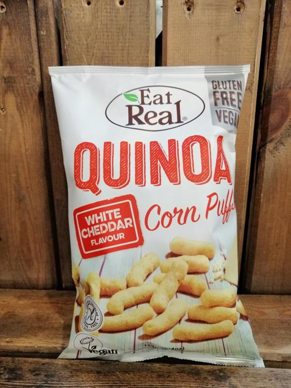 Load image into Gallery viewer, Eat Real Quinoa Puffs Cheese 113g