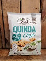 Eat Real Quinoa Chips Sour Cream Chive 30g
