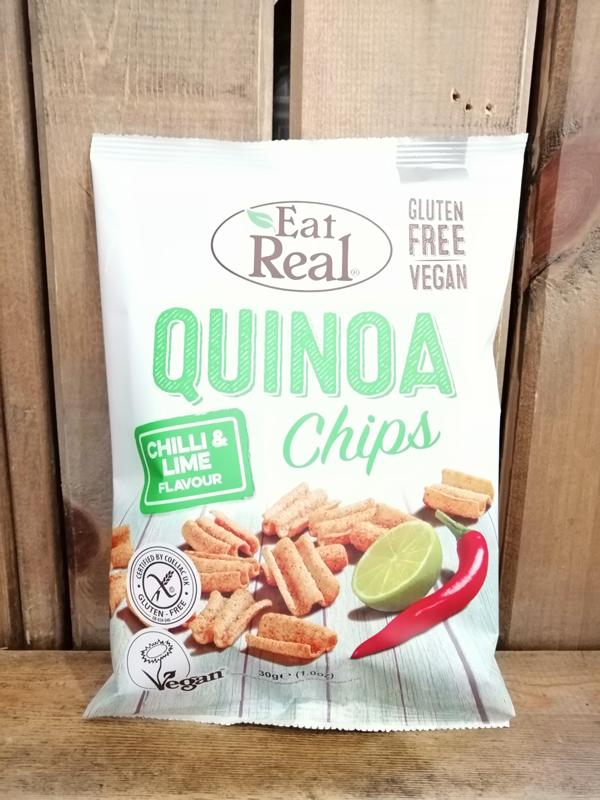 Eat Real Quinoa Chips Chilli & Lime 30g