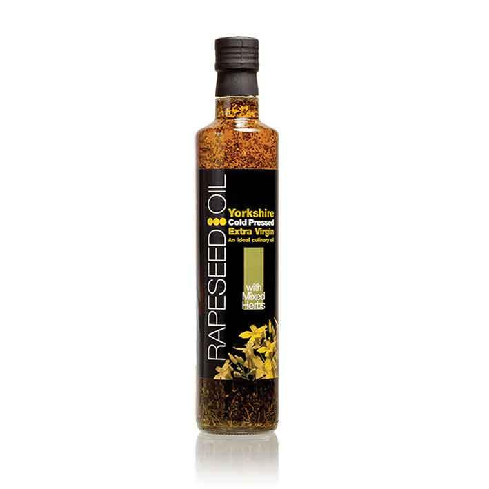 Yorkshire Rapeseed Oil Mixed Herbs 500ml