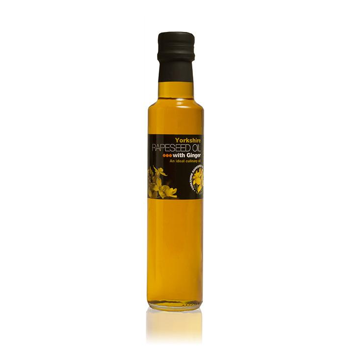 Load image into Gallery viewer, Yorkshire Rapeseed Oil Ginger 250ml