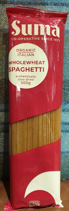 Suma Wholewheat Spaghetti 500g