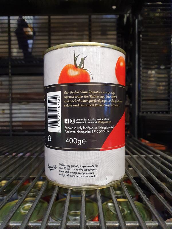 Load image into Gallery viewer, Epicure - Italian Peeled Plum Tomatoes 400g
