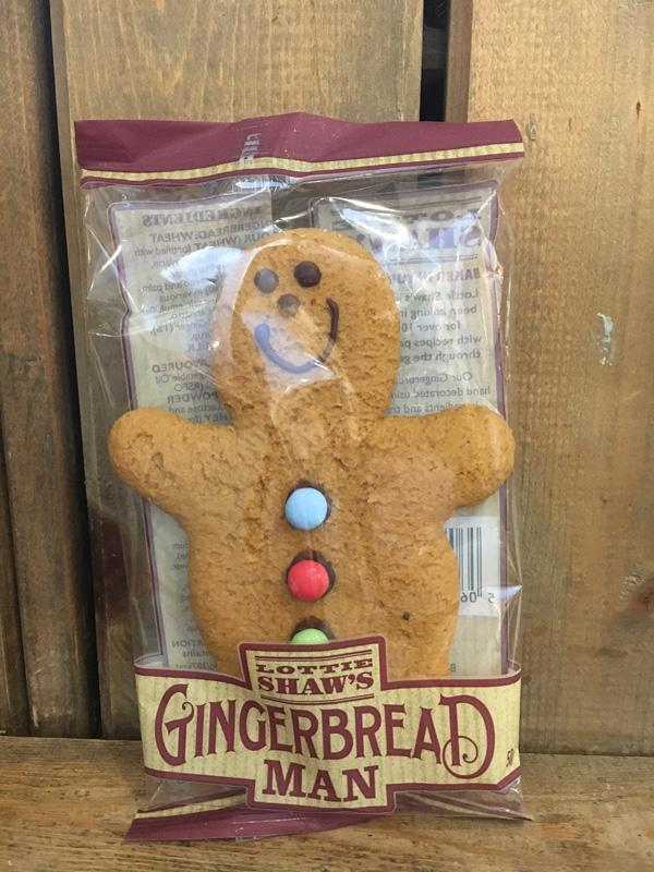 Lottie Shaw's Gingerbread Man