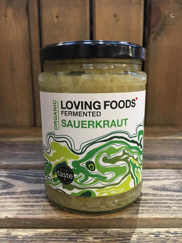 Load image into Gallery viewer, Loving Foods Classic Sauerkraut 500g