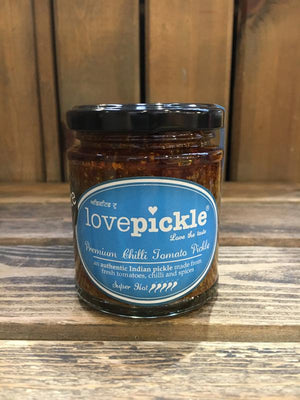 Load image into Gallery viewer, Lovepickle Chilli Tomato Pickle - Super Hot 180g