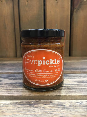 Load image into Gallery viewer, Lovepickle Chilli Tomato Pickle - Medium 180g