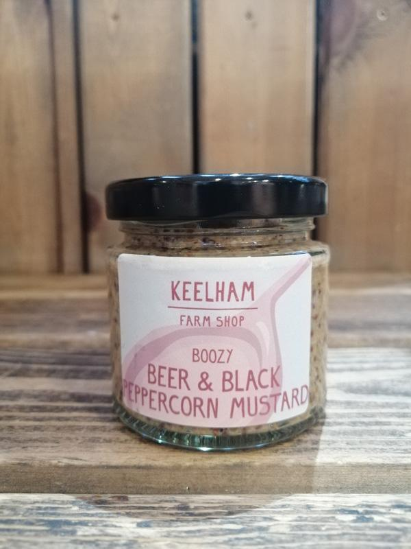 Black Peppercorn Mustard 100g