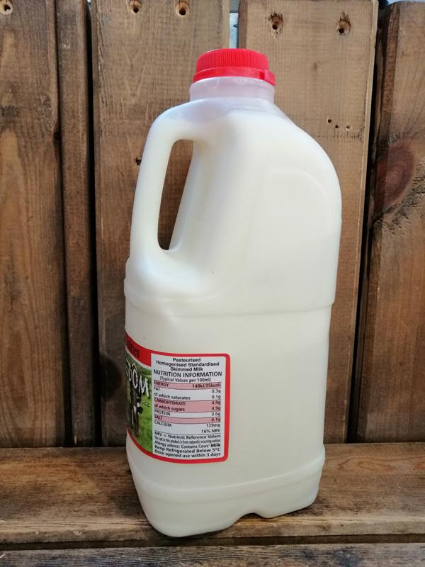 Load image into Gallery viewer, Dales Dairies - Free Range Skimmed Milk 2L