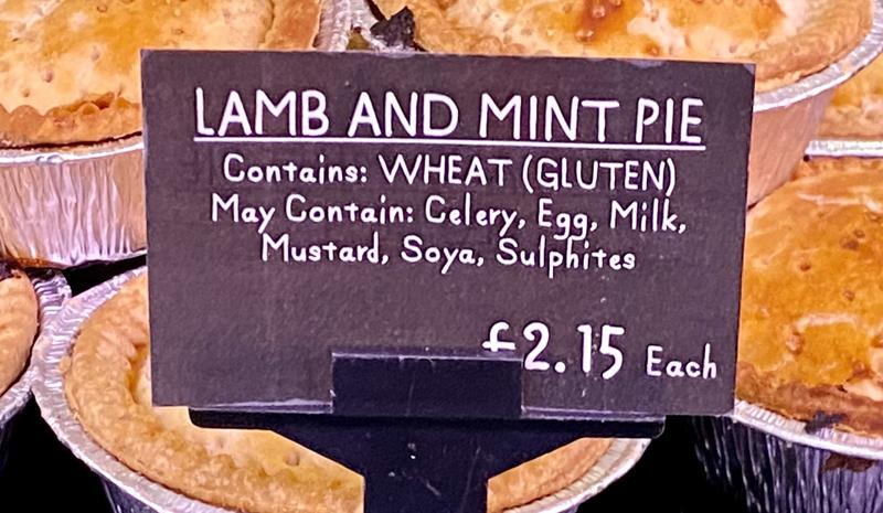 Load image into Gallery viewer, Lamb & Mint Pie