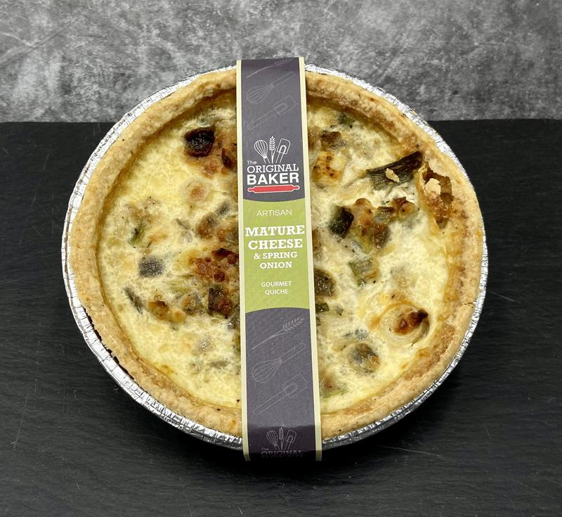 Large Cheese & Onion Quiche