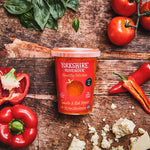 Yorkshire Provender Tomato & Red Pepper Soup with Wensleydale Cheese 600g