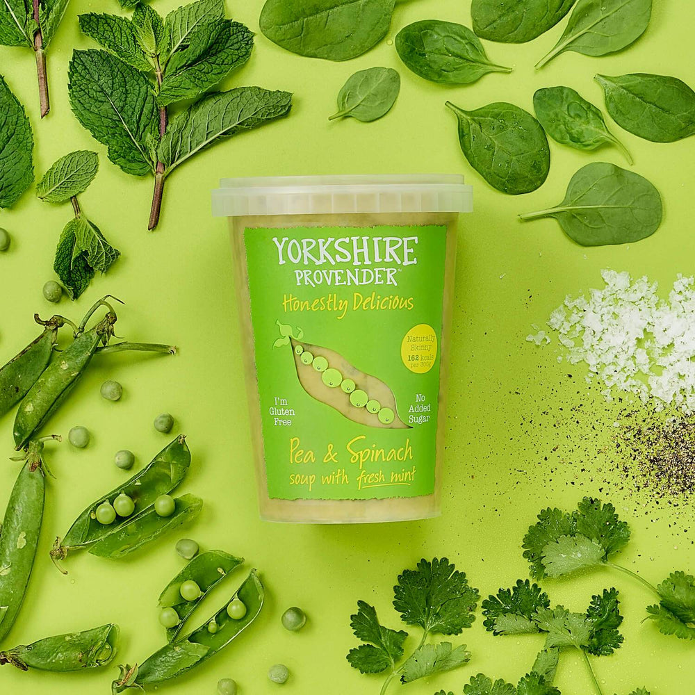 Yorkshire Provender Pea & Spinach Soup 600g