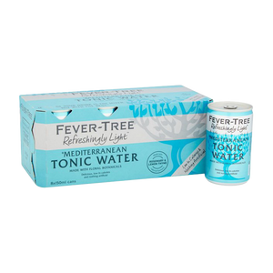 Load image into Gallery viewer, Fever Tree Light Mediterranean Tonic 150ml 8pk