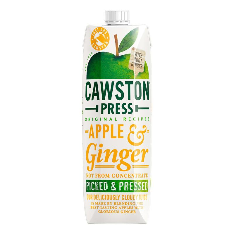 Load image into Gallery viewer, Cawston Press Apple & Ginger 1L