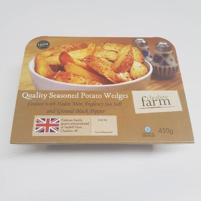 Cheshire Farm Wedges 450g