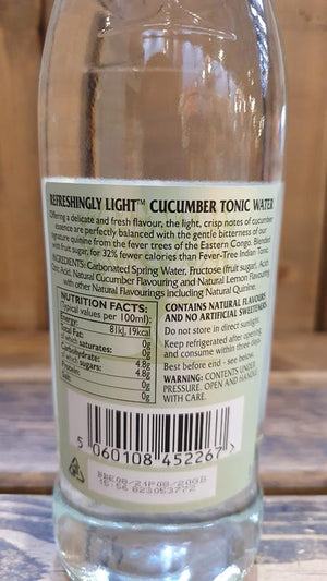 Load image into Gallery viewer, Fever Tree Light Cucumber Tonic 500ml