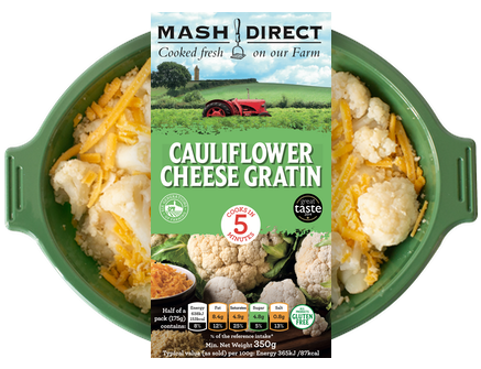 Mash Direct Cauliflower Cheese 350g