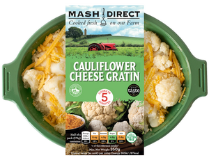 Load image into Gallery viewer, Mash Direct Cauliflower Cheese 350g
