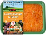 Mash Direct Carrot Parsnip & Turnip 400g