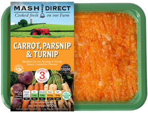 Load image into Gallery viewer, Mash Direct Carrot Parsnip & Turnip 400g