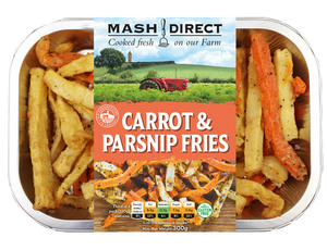 Load image into Gallery viewer, Mash Direct Carrot Parsnip Fries 300g