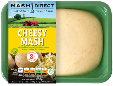 Mash Direct Cheesy Mash 400g