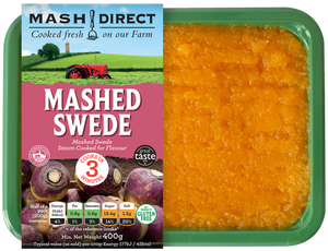 Load image into Gallery viewer, Mash Direct Mashed Swede 400g