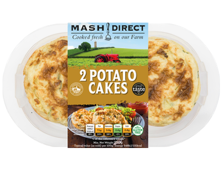 Mash Direct Potato Cakes 2pk