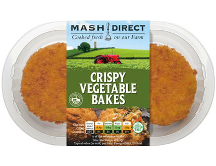 Mash Direct Crispy Veg Bake 2pk