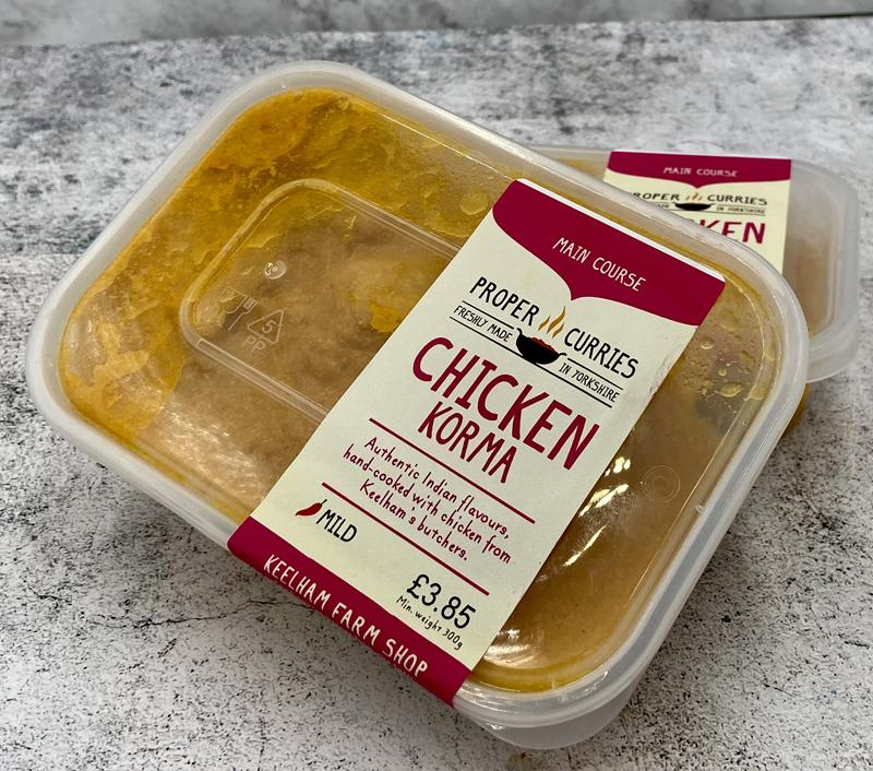 Keelham Proper Curries - Chicken Korma 300g
