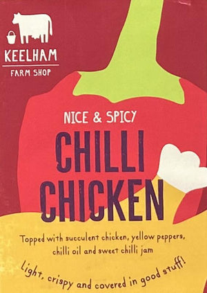 Load image into Gallery viewer, Keelham - Chilli Chicken Pizza 12inch