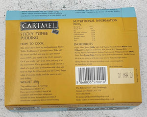 Load image into Gallery viewer, Cartmel Sticky Toffee Pud 250g
