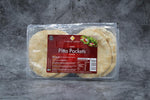 White Pitta Pockets 8pk