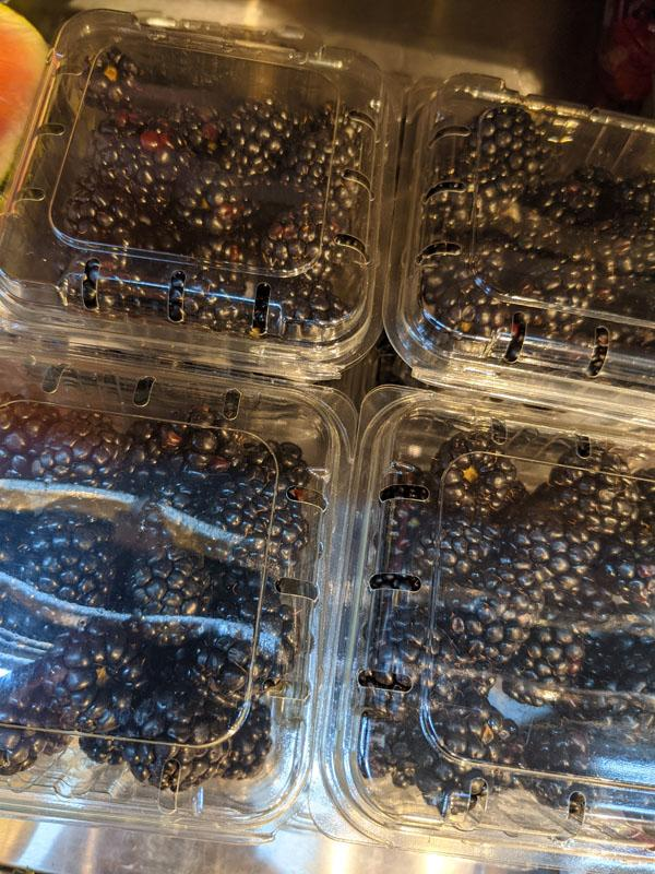 Blackberries Punnet