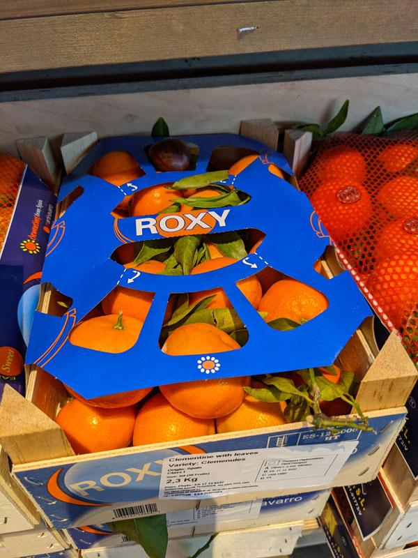 Clementines Leafy Box