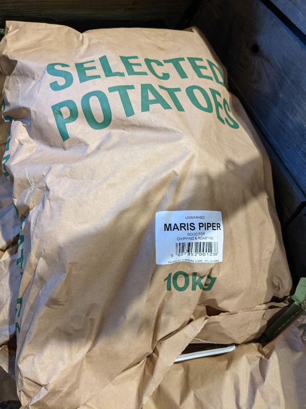 Maris Piper Potatoes, 10kg sack