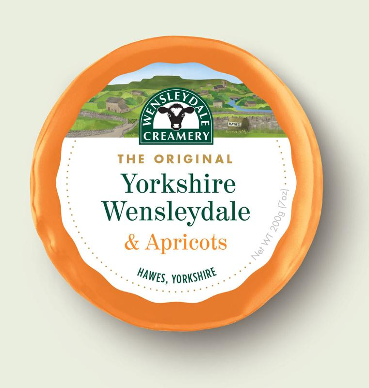 Hawes Wensleydale with Apricots 200g
