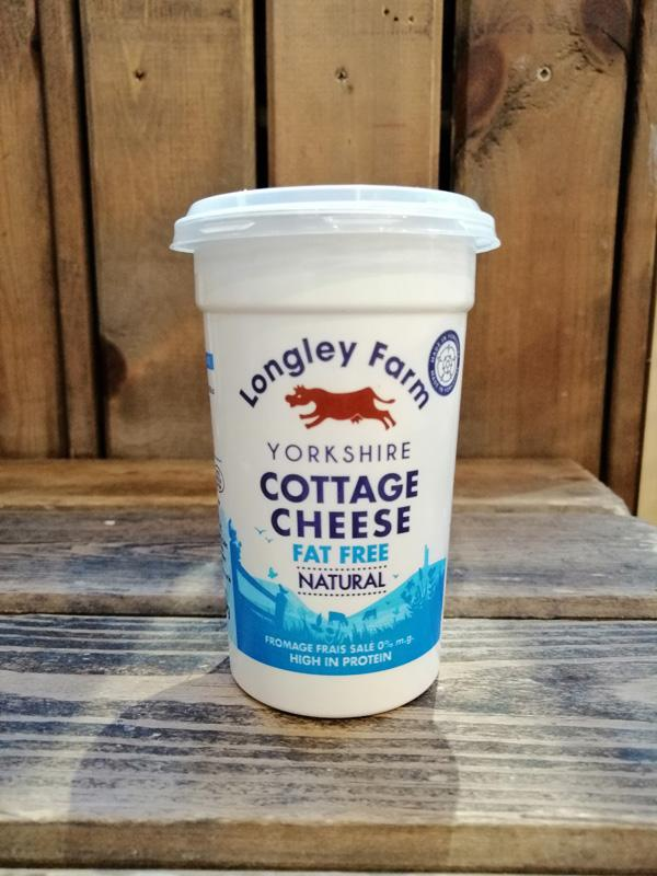 Longley Farm - Cottage Cheese Fat Free 250g