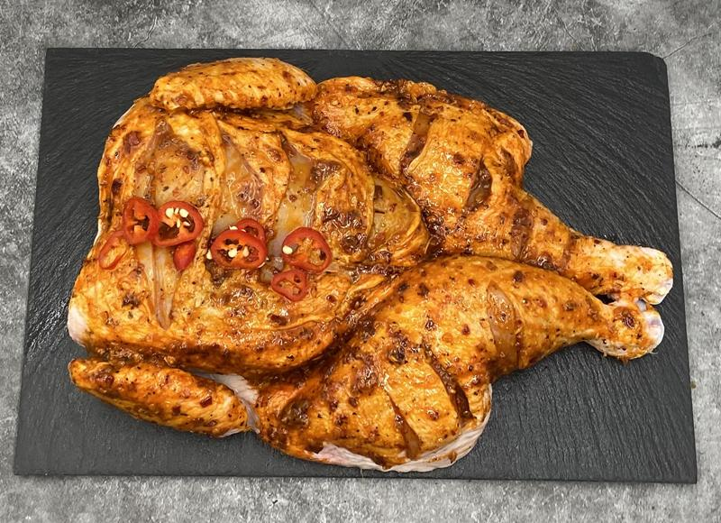 Load image into Gallery viewer, Keelham Spatchcock Chicken - Piri Piri