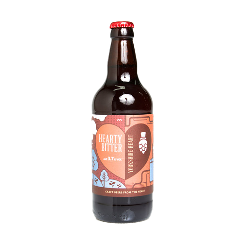Yorkshire Heart Hearty Bitter 500ml