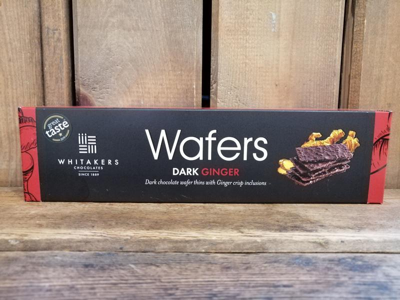 Whitakers Ginger Wafers 175g
