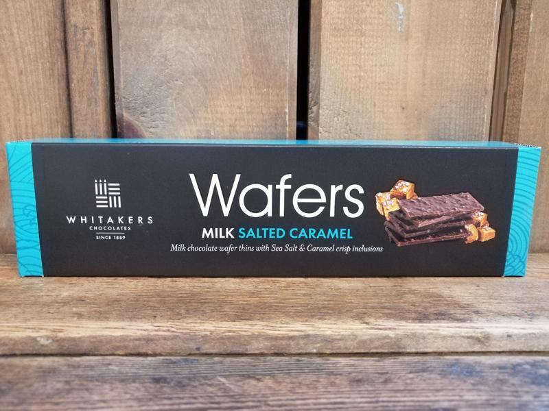 Whitakers Salted Caramel Wafers 175g