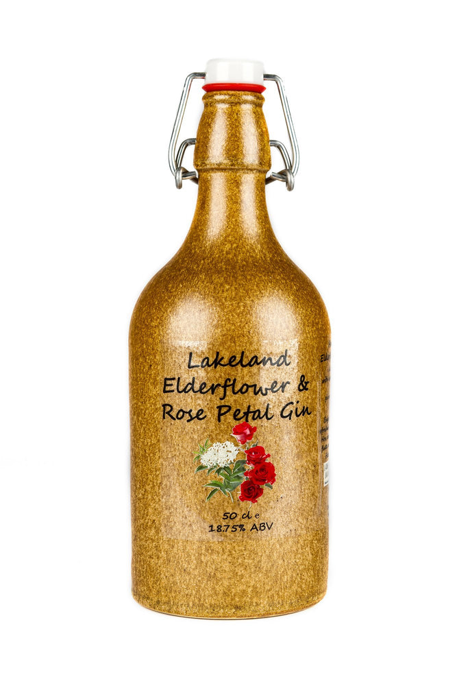 Lakeland Artisan Elderflower & Rose Gin Liqueur 500ml