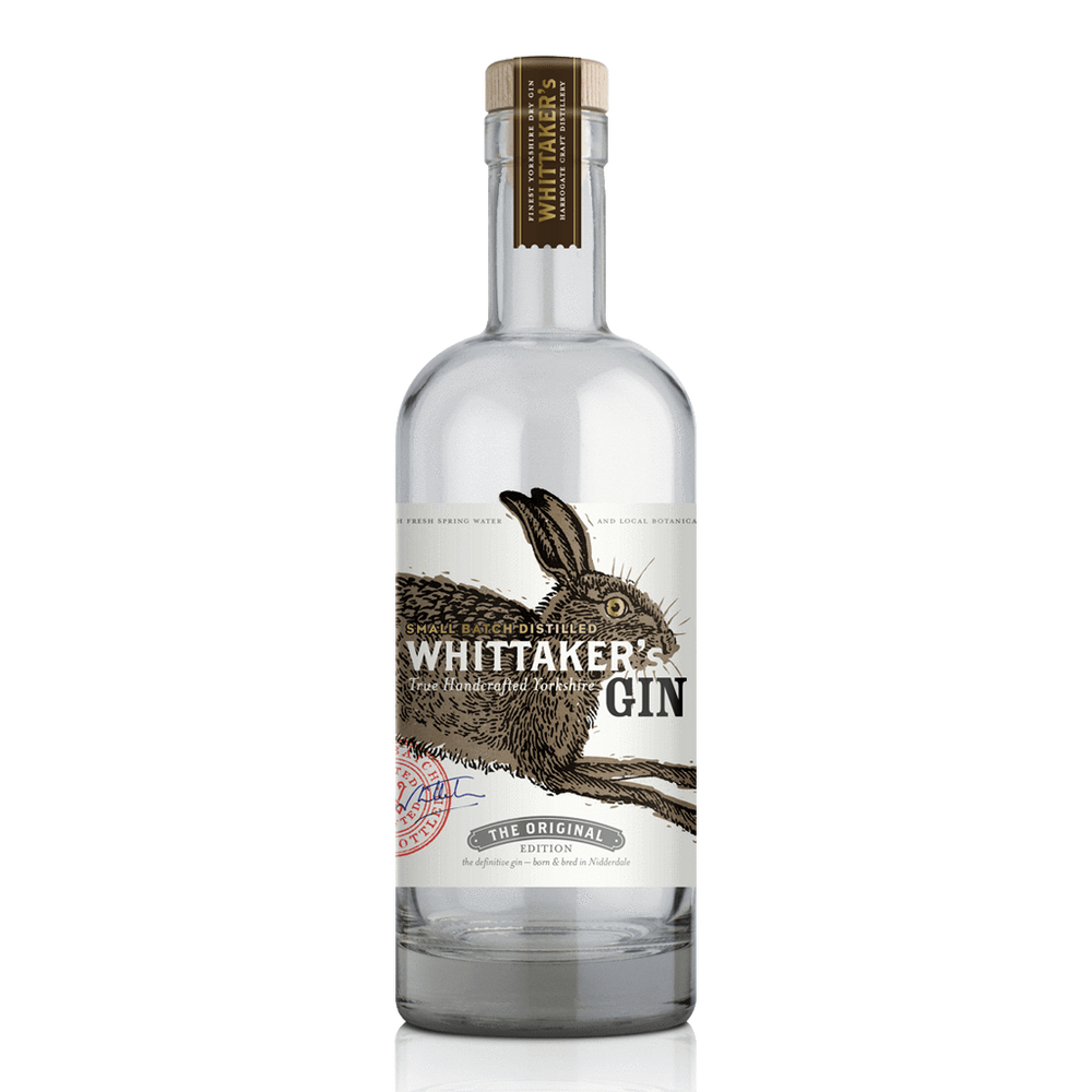Whittakers Gin Orig 42% 20cl