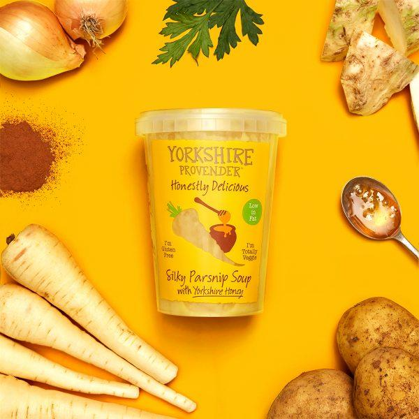 Yorkshire Provender Parsnip & Honey Soup 600g